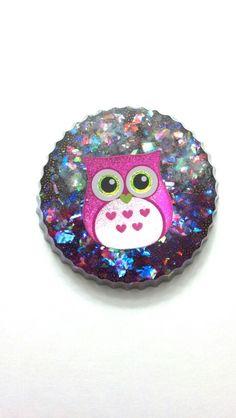 Owl Resin Charm
