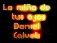 La niña de tus ojos con letra de Daniel Calveti Youtube, Neon Signs, Christianity, Christian Songs, Black Jaguar, Christian Music, Te Amo Mi Amor, Youtube Movies