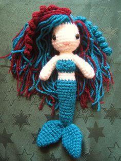 Ravelry: VioletsrBlue's Little Mermaid
