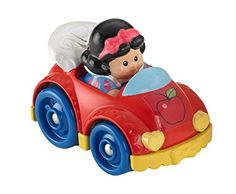 It's all the zip & zoom fun of Wheelies vehicles now with Disney's Snow White built right in! These cool kid-sized vehicles fit perfectly in little hands so toddlers can get the fun rolling! They'll...