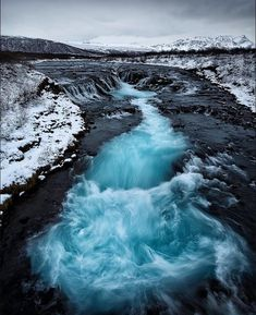 """  83 Likes, 11 Comments - ↳Laureen G Pentelescu↲ (@rustic_folklore_travels) on Instagram: """"  Brúarfoss, Iceland   ... Beautifully taken by @dennispolklaeserphotography I can't wait to visit…""""  """