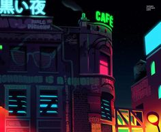 Illustration art graffiti Cool stunning design night city picture pic artwork architecture nice colorful new york image building digital art digital city life map cities architectual Nocturne, Bg Design, Graph Design, Life Map, Midnight City, Graffiti, Color Script, Tumblr, Environment Design