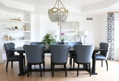 Wingback Dining Room Chairs - top Rated Interior Paint Check more at http://1pureedm.com/wingback-dining-room-chairs/