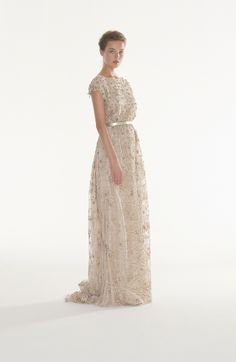 Peter Langner - Envy - wedding dress sparkle gold bohemian