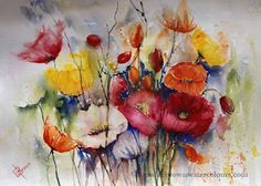 Lorraine Brown Watercolours : Back to the Studio