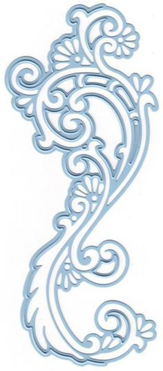 Marianne Design Creatables Dies - Anja's Border Elegant. Creatables die from Marianne Design. This die is great for cutting and embossing using your regular die