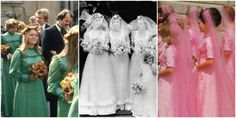 75 Years of Vintage (and Totally Outrageous) Bridesmaid Dresses - WomansDay.com