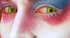Tim Burton's Mad Hatter Makeup - Johnny Depp