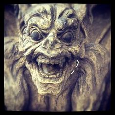 #R0UGH  | http://pinterest.com/toddrsmith/boards/ |- welcome - statue - gargoyle -