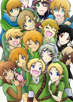 Legend of Link by Royazali XD Fierce Diety's blank stare haha