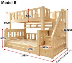 Louis Mode Kinder Etagenbett Echte Kiefer Holz mit Leiter Treppen Schubladen Sic… Louis Mode Kids Bunk Bed Genuine Pine Wood with Ladder Stairs Drawers Safe and Strong Bunk Beds With Stairs, Kids Bunk Beds, Bunk Bed Rooms, Cool Bunk Beds, Bunk Bed Ideas For Small Rooms, Pallet Bunk Beds, Full Size Bunk Beds, Childrens Bunk Beds, Wooden Pallet Beds