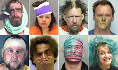 These suspects have some pretty hilarious mugshots