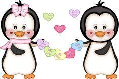 Sweetheart penguins