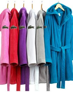 Time for new robes, on sale!