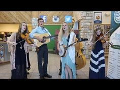 The Petersen Family Bluegrass Band (part 2) - YouTube