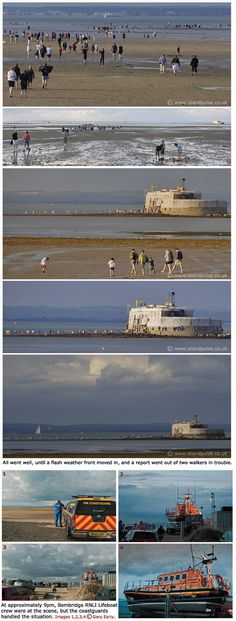 Yearly Isle of Wight Fort Walk by Gary Early