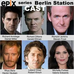 The cast of #BerlinStation