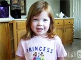 Darling Little Girl Recites Psalm 23 From Memory ✝