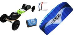 MBS Colt 90 ATB Mountain board + 3.5m HQ Alpha Powerkite