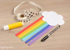 We are sharing another wonderful rainbow craft tutorial with you today as we are making a cute paper rainbow kid craft (in noway limited just for kids). This is a quick craft to make, so it can be a perfect project for hands on scissor practice in the classroom as it doubles up as a …