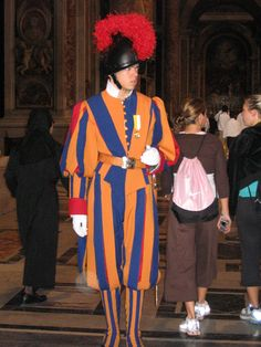 What is the Swiss Guard?