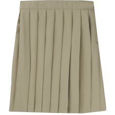 French Toast Girls' Pleated Skirt (Beige Or Khaki, Size 6X) - School Uniforms, Girls Uniform Bottoms at Academy Sports