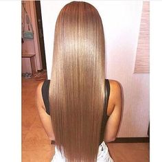 My personal hair goal: super long length (to my natural waist), as straight as possible, shiny/healthy looking, and frizz free!