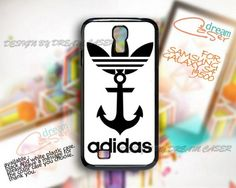 Adidas and Anchor - Print On Hard Case Samsung Galaxy S4 i9500