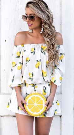 Lemon outfit          ✧≪∘∙✦✧•*•.  ✦⊱.            •*•.Pinterest @Kawaii Duck ⊰✦ ≪∘∙Instagram@Lifestyle_Duckling✧•*•.ஐ•Polyvore @Lifestyle1duckling ✦✧•*•.Follow to discover more! ஐ✧•*•