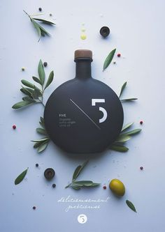 5 Extra Virgin Olive Oil / pinned on www.tobydesigns.com