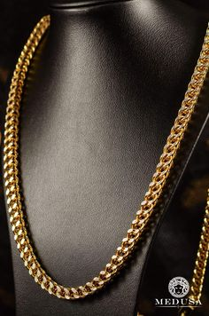 4f991d6a4 Jewelry In gold chain chains Franco Homme-6mm Franco Diamond Cut Chain Jewelry  Medusa-