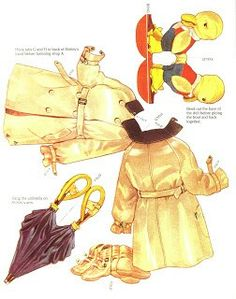 Shirley Temple Standing Paper Doll w/fold-over costumes, Saalfield (7 of 8)