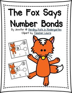 "FREE ""The Fox Says Number Bonds"" as a Fan Freebie on my Facebook page!"