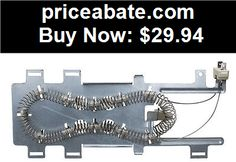 Major-Appliances: 8544771 Dryer Heating Element Heater for Whirlpool Kenmore fits PS990361 - BUY IT NOW ONLY $29.94