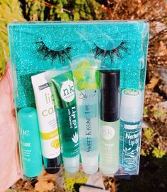 Mint Moon Lash and Gloss Box Bundle Lip Gloss Homemade, Diy Lip Gloss, Glitter Lip Gloss, Green Lips, Lip Care, Face Care, Glossy Lips, Hygiene, Skin Makeup