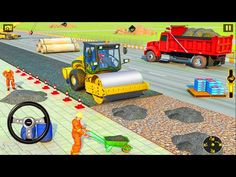 City Construction Game: Snow Excavator Simulator - Android Gameplay - YouTube