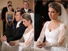 Vestido de noiva lindo | Noivinhas de Luxo
