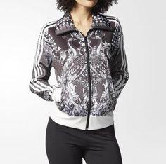 6af15f7628a61 adidas Women s Track Jacket Pavao Black gray Firebird Logo Trefoil Ay6881 M    eBay