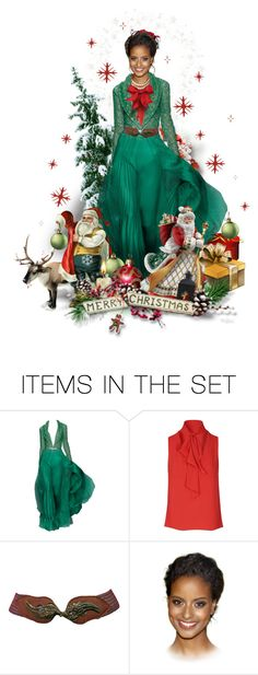 """Santa Baby, Hurry Down the Chimney Tonight"" by ellen-hilart ❤ liked on Polyvore featuring art and RaniZakhem"