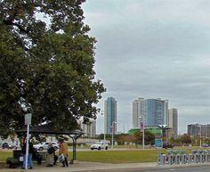 City of Austin in Texas Austin Skyline