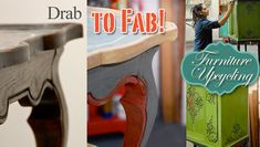 Drab to Fab Furniture How-to Video. If you don't have confidence getting started this is an inexpensive price to pay for  professional instructions. TONS of other courses as well....I love this website!