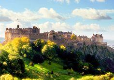 Edinburgh Castle i Skottland #edinburgh #castle #edinburghcastle #skottland #scotland