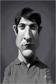 Rob Snow | caricatures - Dustin Hoffman art | decor | wall art | inspiration | caricatures | home decor | idea | humor | gifts