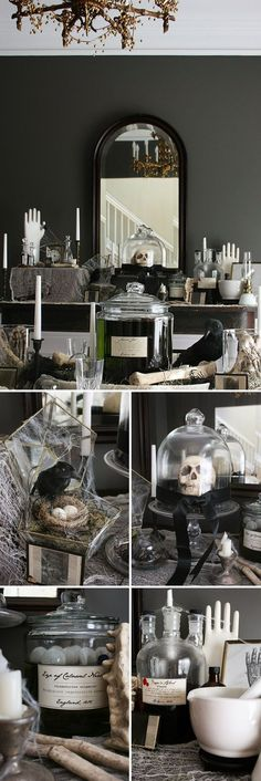 13 Things Needed To Keep Your Halloween Party Classy AF Prepping - classy halloween decor