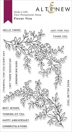 Anniversary Congratulations, Happy Anniversary, Are You Happy, Just For You, Simply Stamps, Happy Wishes, Friends Day, Flower Stamp, Flowering Vines