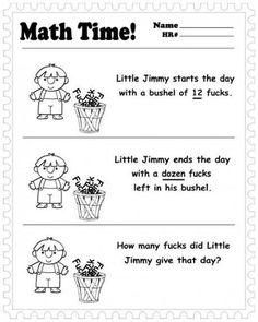 Math Time!  See more funny pics at killthehydra.com!