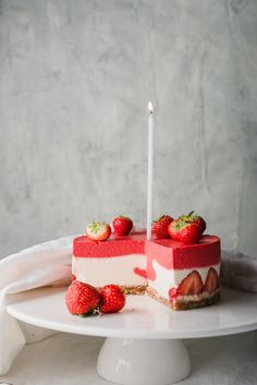 Healthy Dessert Recipes, Sweets Recipes, Healthy Treats, No Bake Desserts, Healthy Desserts, Delicious Desserts, Cake Recipes, Gluten Free Recipes, Vegan Recipes