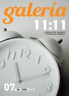 Galería #07 - Noviembre 2012 - 11:11 http://www.revistagaleria.pe/ http://www.facebook.com/revistagaleria
