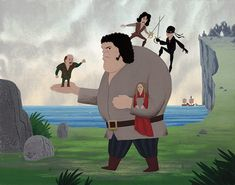 The Princess Bride by Drake Brodahl - totally made this my background.. cuz im a loser