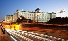 Madrid: 'Royal Palace', 5am, by Sergio Martinez Gonzalez. | 31 Beautiful Photos Of Cities That Never Sleep